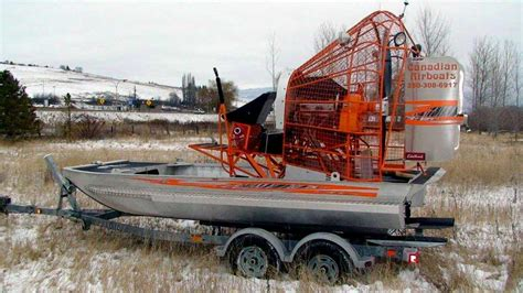 airboat canada canadian airboats 15x7 red raptor
