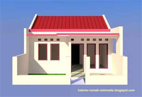 rumah btn desain interior gambar desain rumah sederhana minimalis kpr btn type 21 60