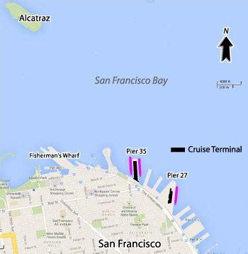 san francisco harbour map cruises from san francisco california san francisco