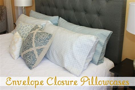 Pillow Bed Made With Pillowcases Envelope Closure Pillowcase For Bed Pillows Make It