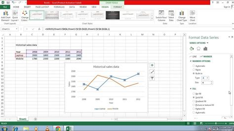 add themes to excel 2013 how to draw line chart in excel 2013 how to add a trend