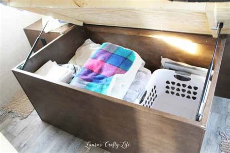 under the bed trailer rv organization laura s crafty life