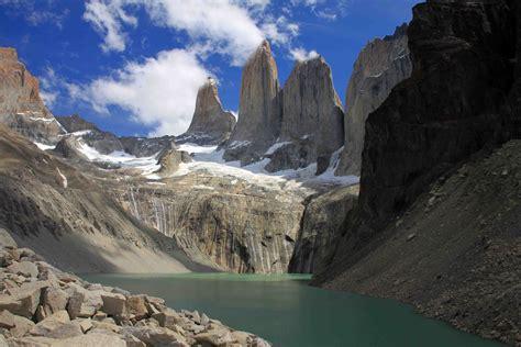 mirador torres del paine hiking to mirador torres del paine in parque nacional