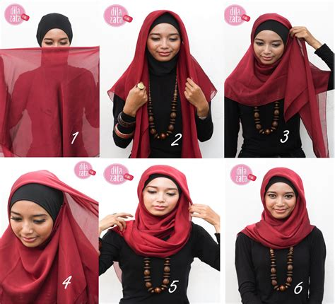 Tutorial Hijab Rawis Segitiga | hijab tutorial segitiga think creative