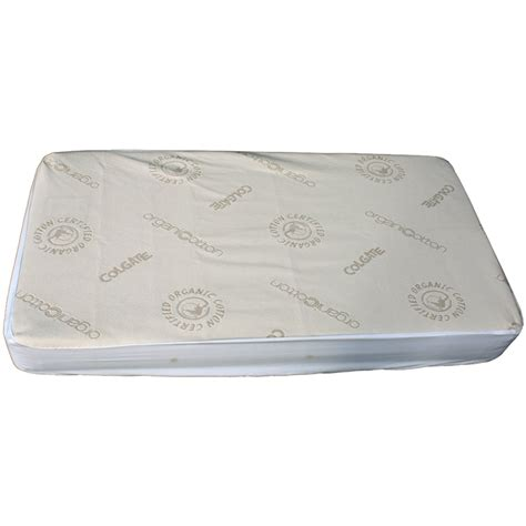 Mattress Cover For Crib Organic Cotton Crib Fitted Mattress Cover By Colgate
