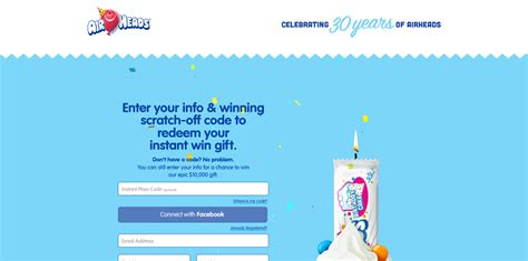 Airheads Sweepstakes - airheadsepicbirthday com airheads epic birthday