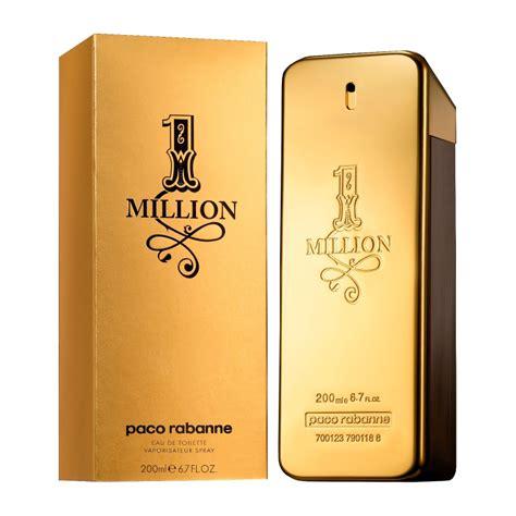 Parfum Paco Rabanne 1 Million paco rabanne 1 million eau de toilette spray 200ml feelunique
