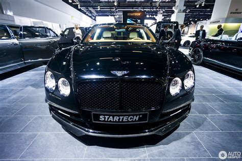 bentley startech iaa 2015 startech bentley flying spur