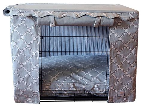 marbella storm stagecoach crate cover double door crate casablanca crate cover small mediterranean dog