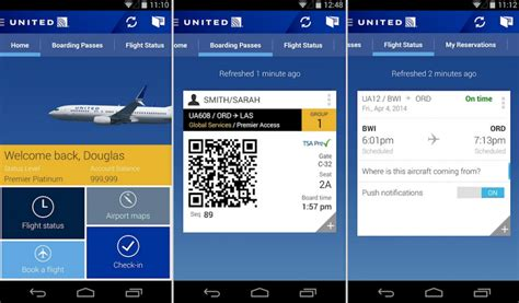 United Airlines Also Search For United Airlines App Gets Redesign In Update New Features Also To Be Found