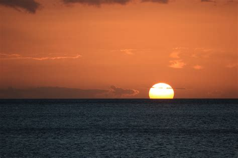sunrise  sea public domain