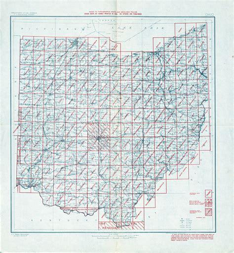 Ohio Topographic Map summit county ohio topographic map images