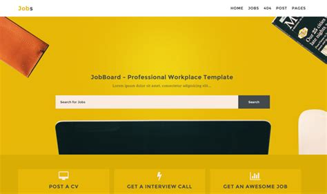 blogger templates for jobs jobs responsive blogger template templateism