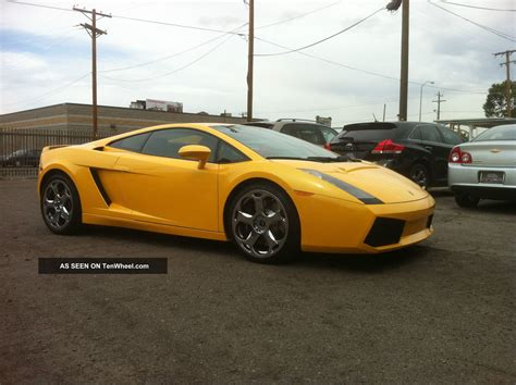 2005 Lamborghini Gallardo 2005 Lamborghini Gallardo Base Coupe 2 Door 5 0l