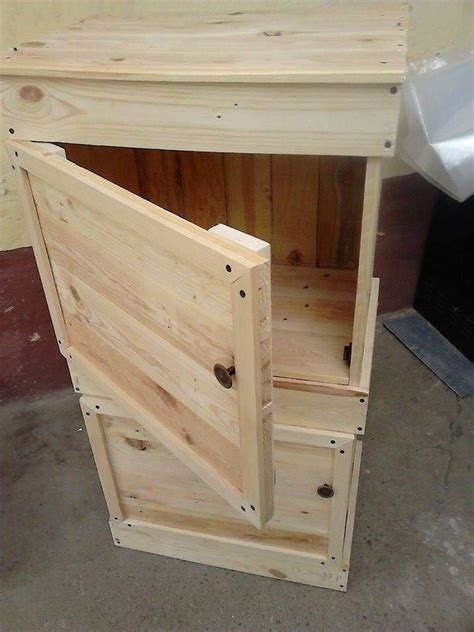 kitchen cabinet table how to build pallet cabinet for storage