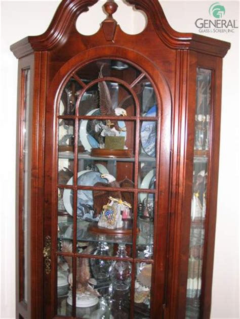 curio cabinet glass replacement cabinet curio glass repair replacement cabinet glass