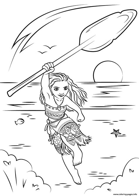 printable coloring pages moana moana coloring pages coloring home