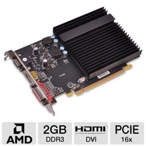 Vga Card Ati Radeon 2gb Ddr3 xfx hd 645x cnh2 radeon hd 6450 card 2gb ddr3 pci express 2 1 x16 1x dvi 1x hdmi