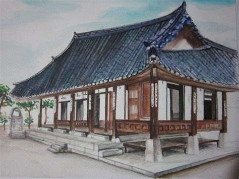 buy a house in korea hanok korean traditional house by lolbenjo on deviantart