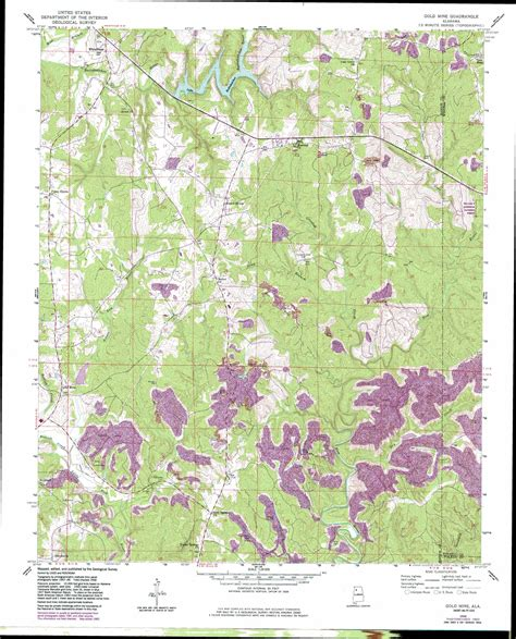 kentucky gold map gold mine topographic map al usgs topo 34087a6