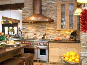 rustic stone backsplash ideas amazing tile kitchen love the log cabin amp cottage