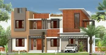 2226 sq feet flat roof villa house design plans
