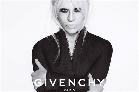 best designers why donatella versace s caign for givenchy is a big
