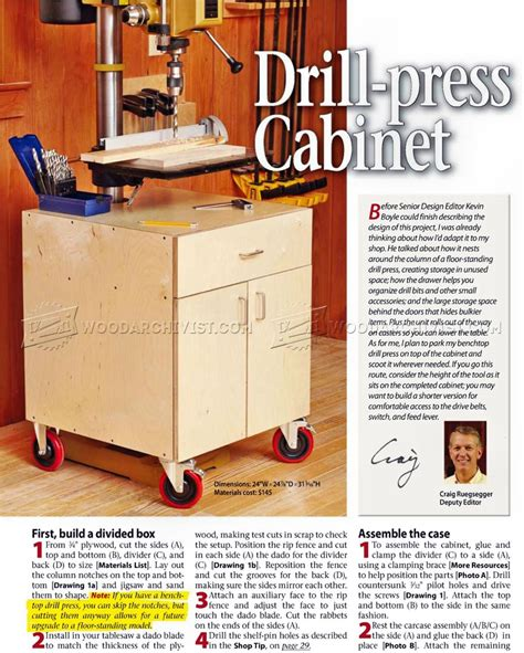 drill press storage cabinet 1193 drill press cabinet plans woodarchivist