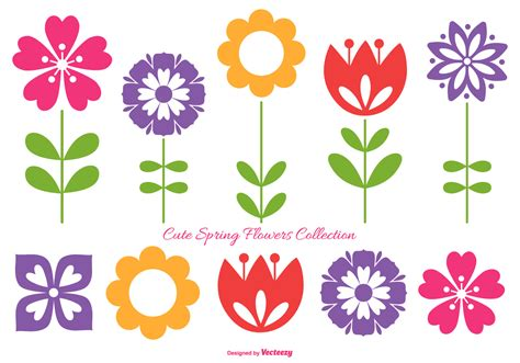 Flower Collection flowers collection free vector