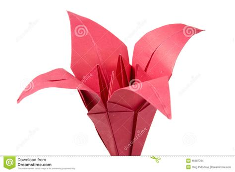 2d Origami Flower - origami flowers stock images image 16887704