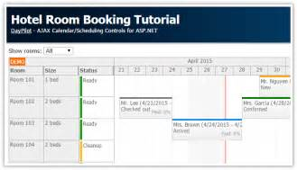 hotel room booking tutorial asp net c vb sql server