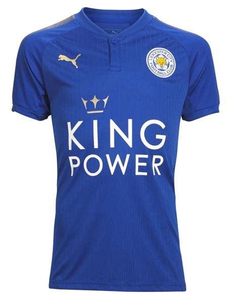 Jersey Leicester City Home 2016 2017 new leicester city jersey 2017 2018 lcfc home kit 17 18 football kit news new soccer