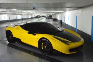 458 Italia Yellow Matte Blue And Yellow 458 Italia Duo In
