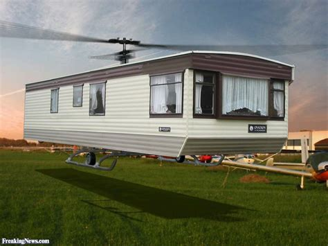 www mobil home com mobile home helicopter pictures freaking news