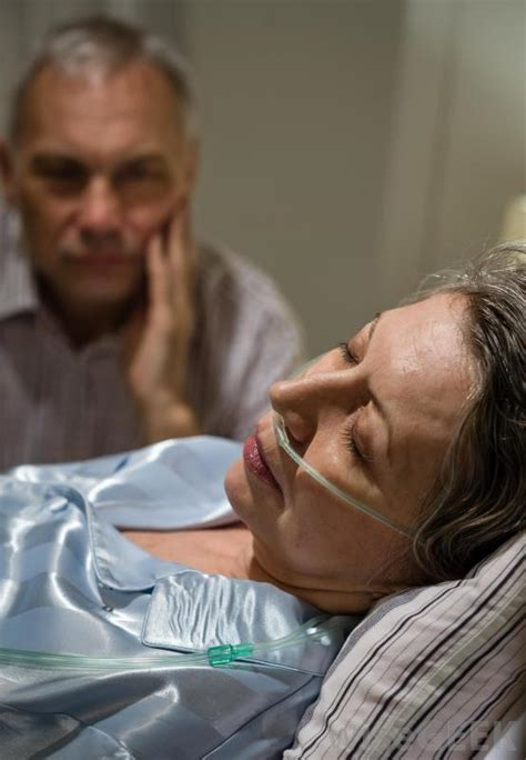 cancer man in bed what are the copd stages with pictures