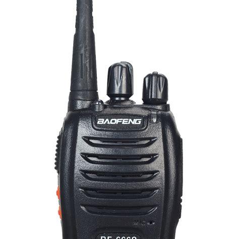 Baofeng Bf 666s Walkie Talkie Single Band 5w 16ch Uhf 2pcs dual band two way radio baofeng bf 666s walkie talkie