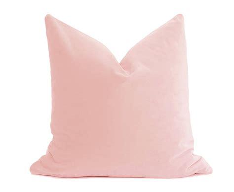 Kissen Altrosa by Blush Velvet Pillow Cover Belgium Velvet Blush Pillow