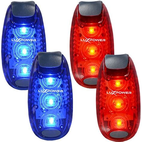safety lights for runners safety light 4 pack for runners bikes dogs kids
