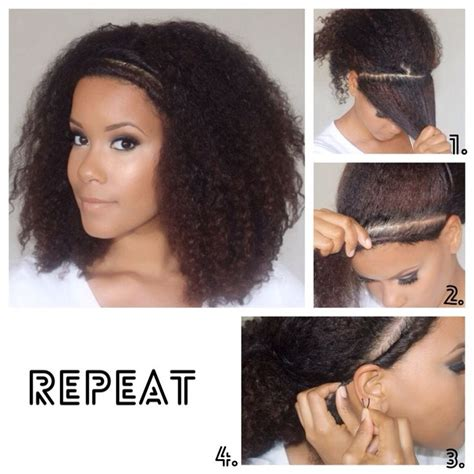 hairstyles for thick hair no heat 251 best natural hair images on pinterest natural hair