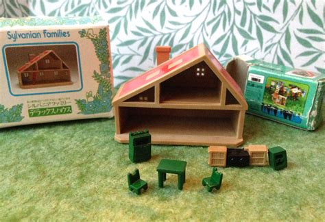 sylvanian families kitchen and living room collection teddy bears friends jp sylvanian families dollhouse sylvanian families kitchen and living room