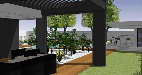 Idee Jardin Paysagiste by Idee Amenagement Jardin Paysager 8 Vert Louest