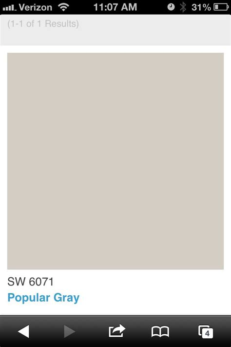 Ideas For Decorating Bathroom Walls by Sherwin Williams Popular Gray For The Home Pinterest