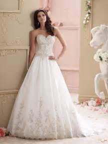 wedding stores strapless organza gown wedding dress
