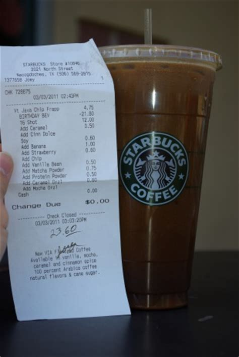 most starbucks order what is the most expensive starbucks drink