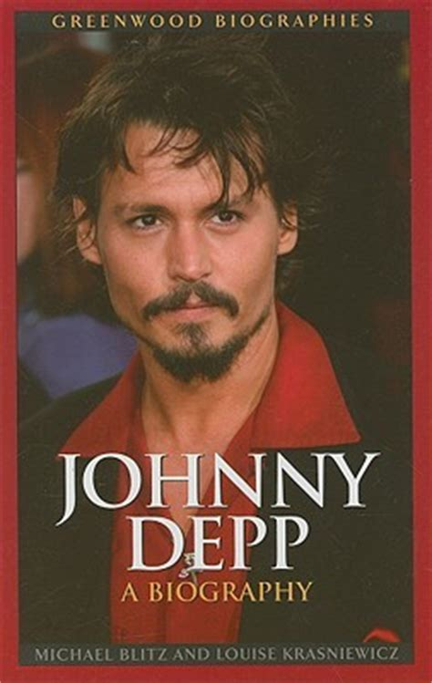 biography channel johnny depp johnny depp a biography by michael blitz reviews