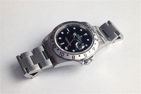 Jam Tangan Rolex 004 jam tangan second sold mint black rolex explorer