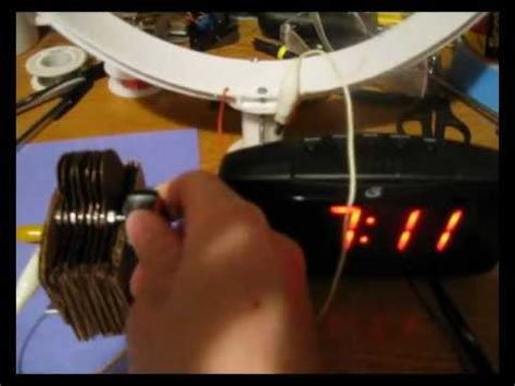 am loop antenna diy diy am loop antenna for dx and variable capacitor