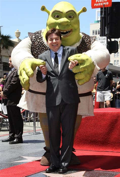 mike myers shrek mike myers picture 21 shrek is honoured with the 2408th