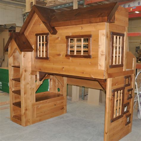 clubhouse bunk bed spanky s clubhouse bunk bed custom designed by tanglewood