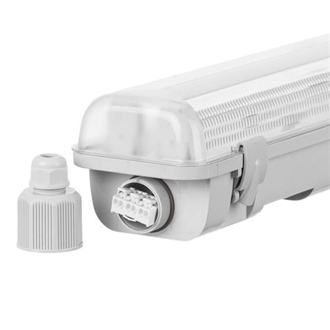 Lu Led Industri vandt 230 t led armatur til led r 248 r ip65 2xt8 1 50 m ultralux